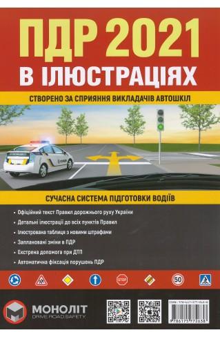 Правила дорожного руху 2021 в ілюстраціях