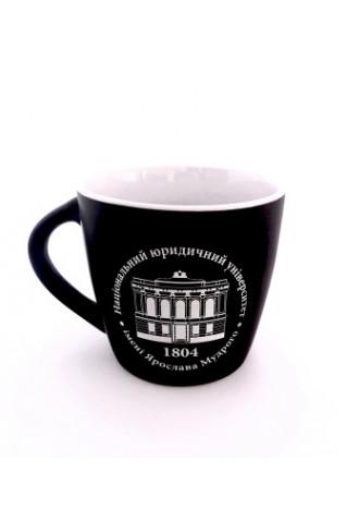 Чашка ETNA НЮУ чорно-біла, матеріал - фаянс