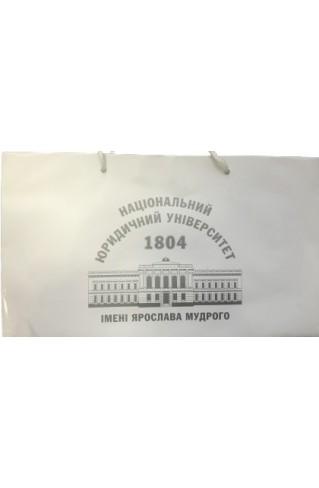 Пакет НЮУ з мелованного папіру